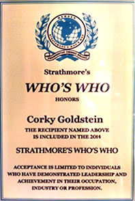Strathmore's Who's Who Honor