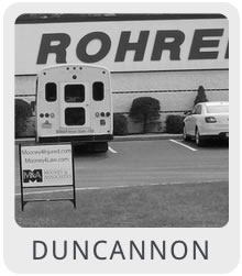 Criminal Lawyers in Duncannon