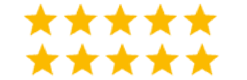 Highest Possible Rating - 10 Stars
